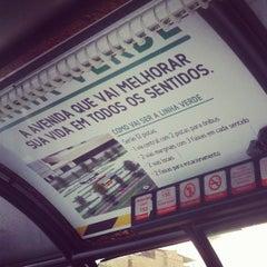 Photo taken at Estação Wenceslau Braz (Expresso BRT) by Thati S. on 3/16/2013