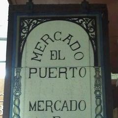 Photo taken at Mercado del Puerto by Laura T. on 5/8/2013