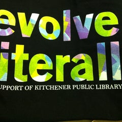 Photo taken at Kitchener Public Library - Central by Jen C. on 11/9/2012