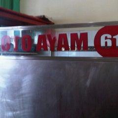 Photo taken at Soto ayam 61 by Tasya V. on 3/12/2012