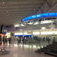 Photo taken at John F. Kennedy International Airport (JFK) by Muhannad on 7/4/2013