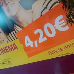 Photo taken at Vivacine Maia by Orquidea P. on 8/29/2014