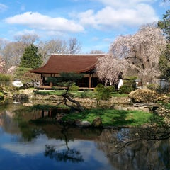 Photo taken at Shofuso Japanese House and Garden by Shofuso Japanese House and Garden on 3/31/2015