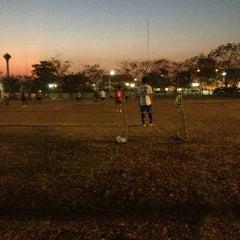 Photo taken at สนามกีฬาจังหวัดพระนครศรีอยุธยา by Djv P. on 1/8/2013