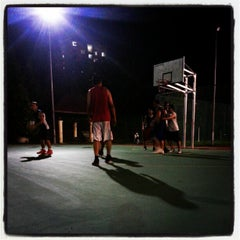 Photo taken at K9 Basketball Court by Muhammad Syazwanul Badri R. on 12/22/2012