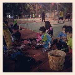 Photo taken at K9 Basketball Court by Muhammad Syazwanul Badri R. on 12/29/2012