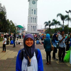 Photo taken at Jam Gadang by Anna R. on 3/1/2014