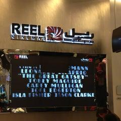 Photo taken at Reel Cinemas ريل سينما by Talib B. on 1/3/2013