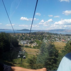 Photo taken at Skyline Rotorua Gondola by easegill on 3/3/2013