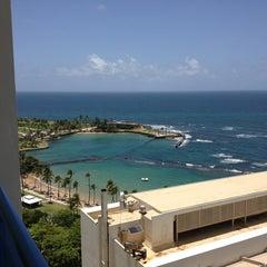 Photo taken at Caribe Hilton by Joe T. on 6/29/2013