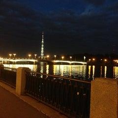 Photo taken at Ушаковский мост by Katrina S. on 6/20/2013