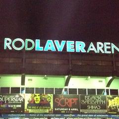 Photo taken at Rod Laver Arena by Behiye K. on 3/31/2013