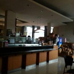 Photo taken at Grandia Resto Café & Pastry by Armas S. on 2/4/2013