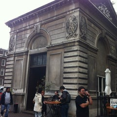 Photo taken at The Euston Tap by Philip B. on 10/10/2012