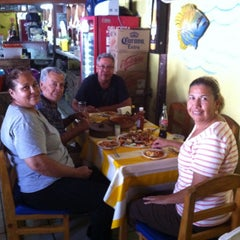 "Photo taken at Restaurante De Mariscos ""Loredos"" by Oscar L. on 8/30/2014"