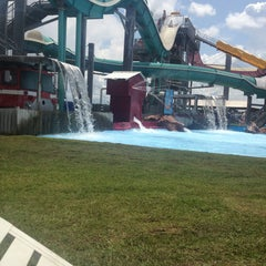 Photo taken at Gulf Islands Waterpark by Nicole D. on 7/10/2013