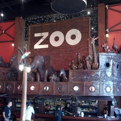 Photo taken at ZOO Bar by Leopoldo L. on 3/30/2013