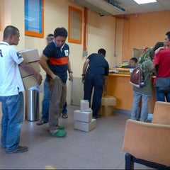 Photo taken at POSLAJU National Courier, Taman Perindustrian Selaman, Bangi by Anonimursi S. on 7/11/2013