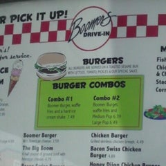 Photo taken at Boomer's Drive-In by Pete R. on 9/24/2012