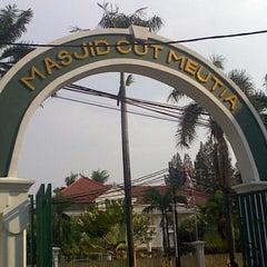 Photo taken at Masjid Cut Meutia by San S. on 11/10/2013