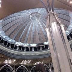 Photo taken at Masjid Tuanku Mizan Zainal Abidin (Masjid Besi) by nurmaisarah on 10/20/2012