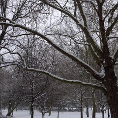 Photo taken at Finsbury Park by Mustafa O. on 1/20/2013