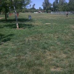 Photo taken at Sepulveda Basin Off-Leash Dog Park by Pamela B. on 5/27/2013