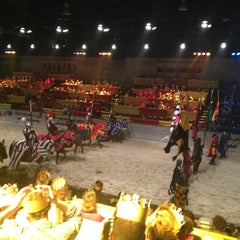 Photo taken at Medieval Times by Shane M. on 2/23/2013