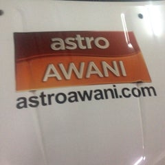 Photo taken at Astro Awani by Alif N. on 5/21/2015