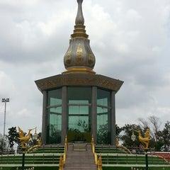 Photo taken at วัดป่ากุง (วัดประชาคมวนาราม) by rachapa b. on 5/17/2013