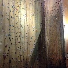 Photo taken at Hardrock Indoor Rock Climbing by Scott R. on 2/13/2014