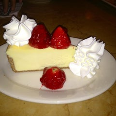 Photo taken at The Cheesecake Factory by Karine F. on 1/23/2013