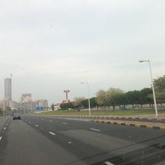 Photo taken at Gulf Street by Fawaz A. on 12/25/2012