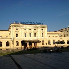 Photo taken at Kraków Główny by Hogu V. on 7/19/2013