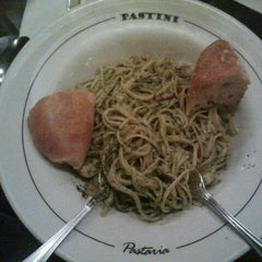 Photo taken at Pastini Pastaria by Christian A. on 11/28/2012