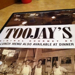 Photo taken at TooJay's Gourmet Deli by Daryn Z. on 11/17/2012