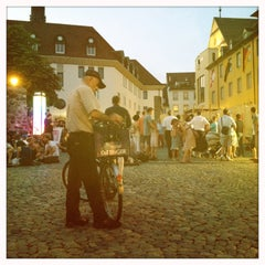 Photo taken at Augustinerplatz by Ville H. on 7/20/2013