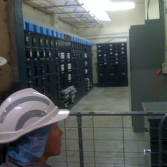 Photo taken at Russell Place Substation by Andrew M. on 10/3/2012