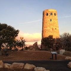 Photo taken at Desert View Watchtower by John C. on 12/3/2012