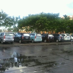 Photo taken at Area Parkir Manado Town Square by Rivo W. on 12/15/2012