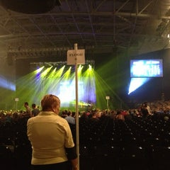 Photo taken at CFE Arena by Melody G. on 10/12/2012