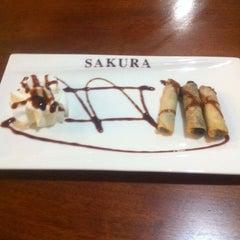 Photo taken at Restaurante Japonés Sakura VII by Sara M. on 12/4/2012