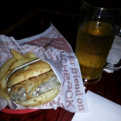 Photo taken at Red Robin Gourmet Burgers by Christian C. on 10/7/2012