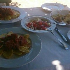 Photo taken at Paliria Restaurant by Manos P. on 6/15/2013
