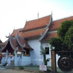 Photo taken at วัดเจ็ดลิน (Wat Chet Lin) by YURI ~. on 9/11/2015