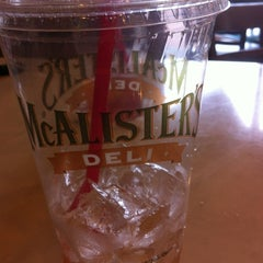 Photo taken at McAlister's Deli by Kathy L. on 11/10/2012