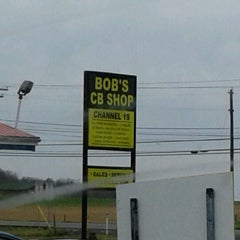 Photo taken at Bob's CB Shop by Keith W. on 12/20/2012