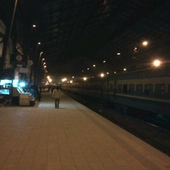 Photo taken at Ramsis Railway Station | محطة مصر by Eslam M. on 1/12/2013