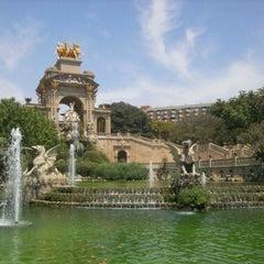 Photo taken at Parc de la Ciutadella by Svetlana F. on 7/13/2013