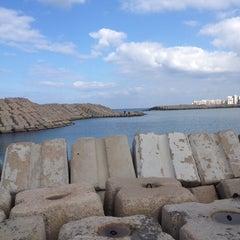 Photo taken at Corniche by Soha B. on 1/11/2014